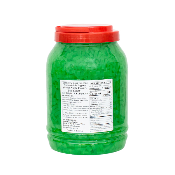 Coconut Jelly - Green Apple Flavor