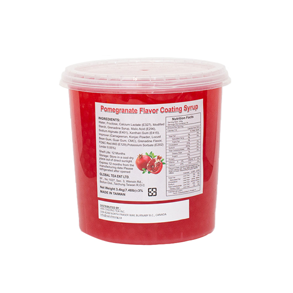 juicy boba Pomegranate