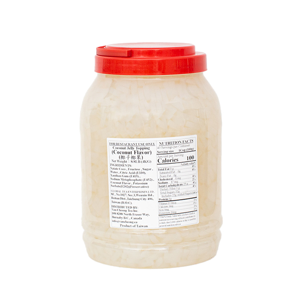 Coconut Jelly – Coconut Flavor